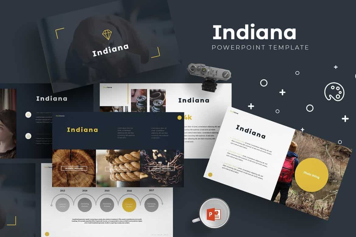 Indiana - Professional Powerpoint Template
