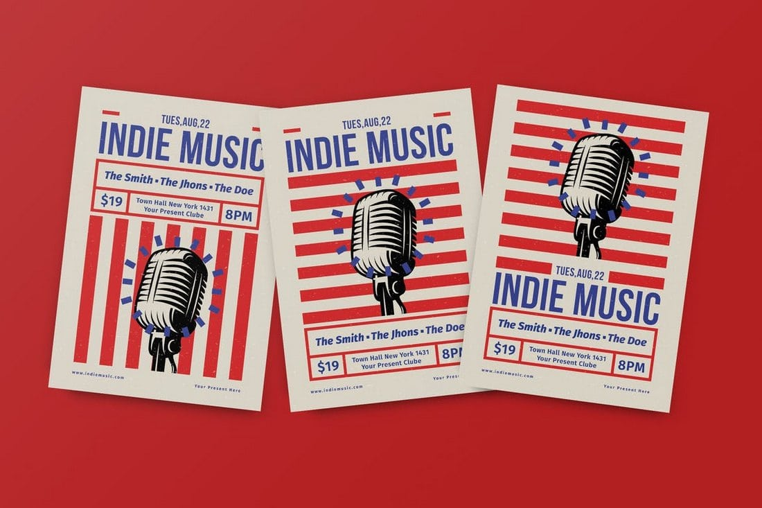 30 Best Music Band Flyer Templates Design Shack