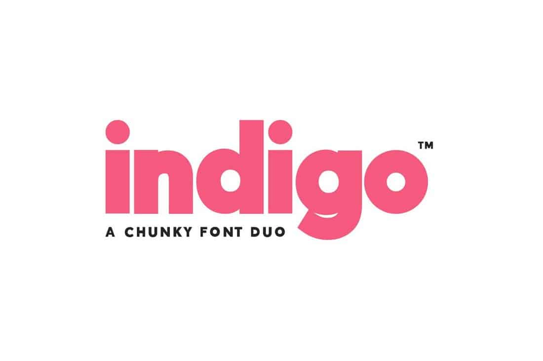 Indigo-Modern-Chunky-Font 30+ Best Fonts for Signs design tips  Inspiration