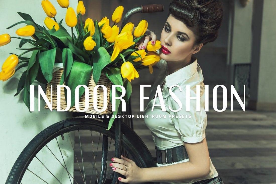 Indoor Fashion Mobile & Desktop Lightroom Presets