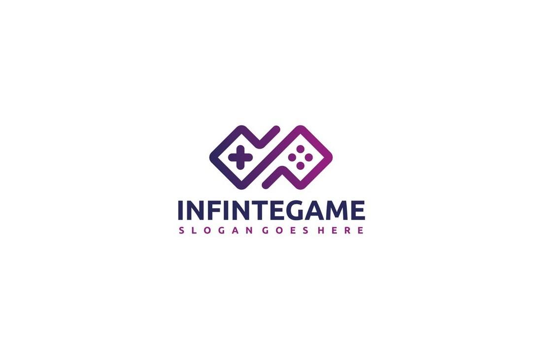 Infinite Game Logo Template