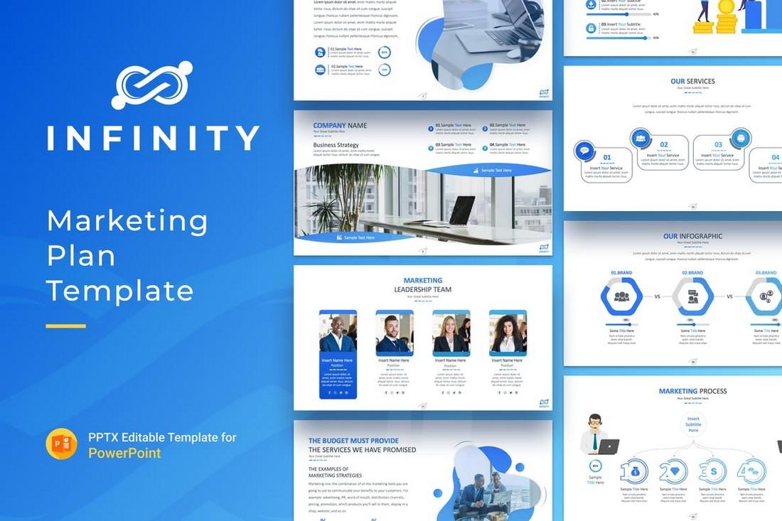 Infinity - Marketing Plan Presentation Template