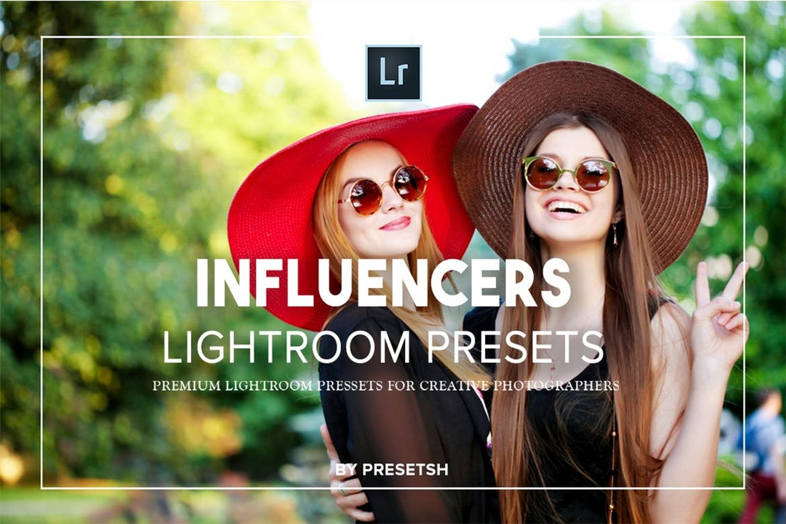 Influencers-Lightroom-Portrait-Presets 50+ Best Lightroom Presets for Portraits (Free & Pro) 2020 design tips