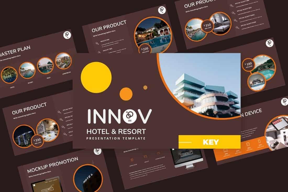 Innov-Hotel-Resort-Keynote-Presentation 30+ Keynote Business Slide Templates design tips  Inspiration|business|keynote|presentation
