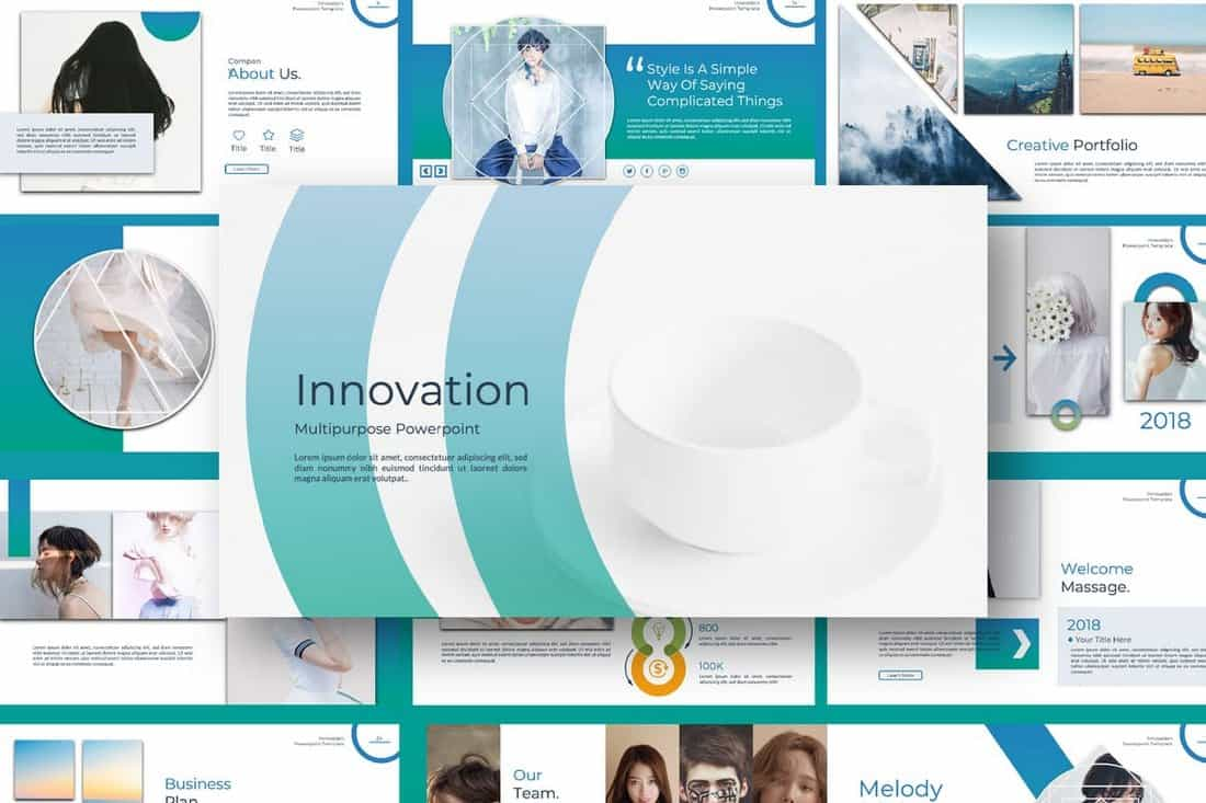 Innovation - Professional PowerPoint Template