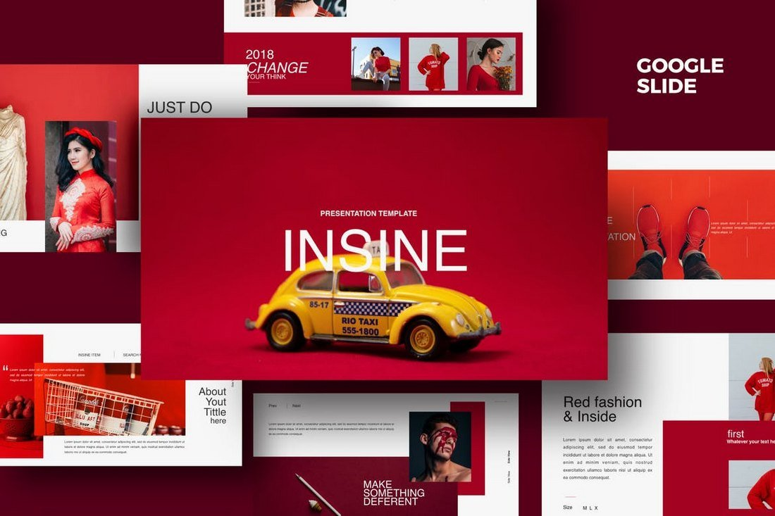Insine - Google Slides Template