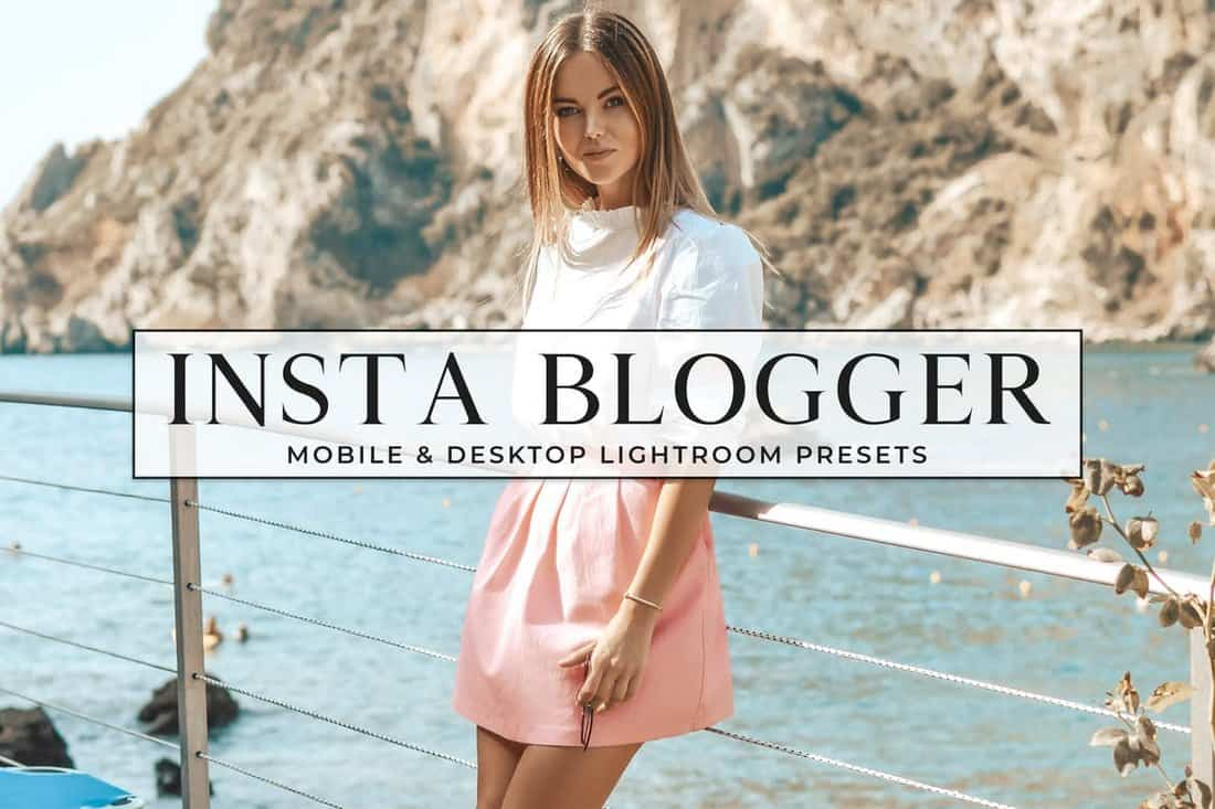 Insta Blogger Lifestyle Lightroom Presets