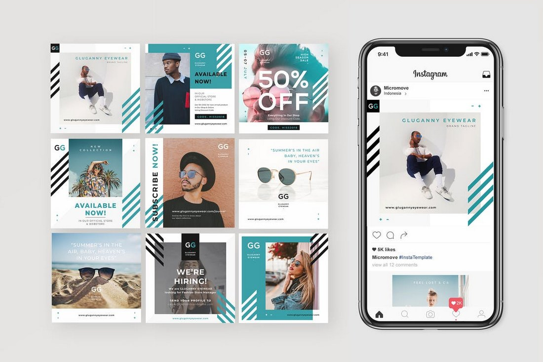 Instagram-Fashion-Banner-Templates 30+ Best Instagram Templates & Banners design tips
