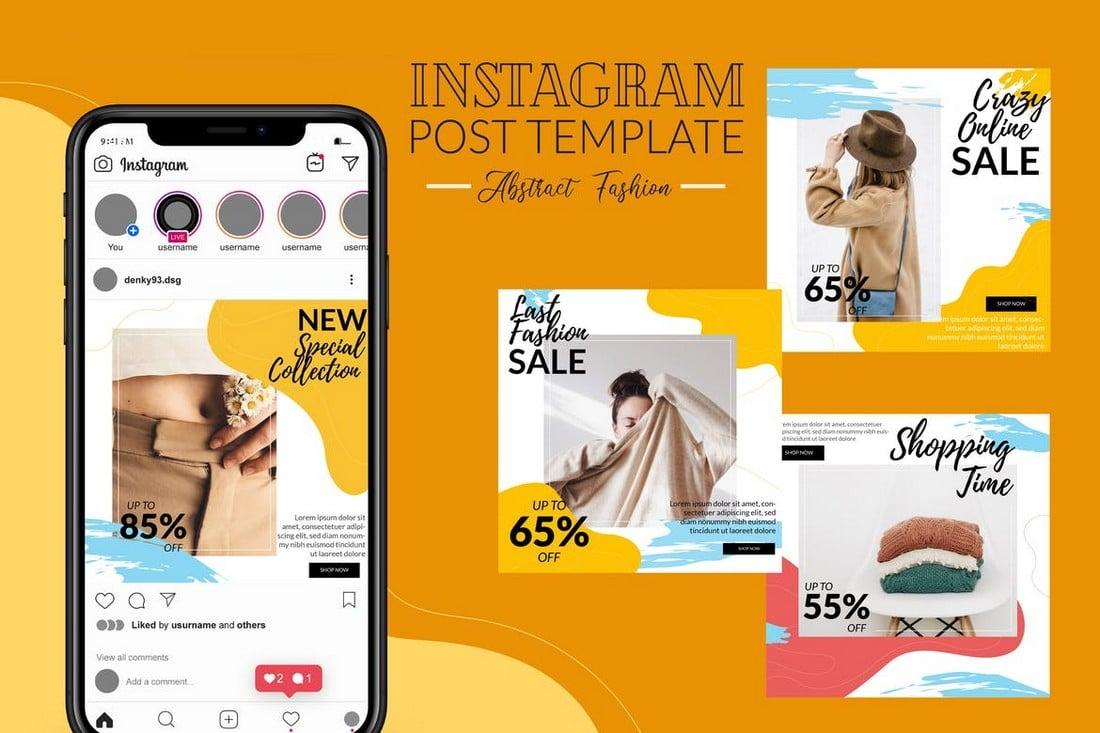 Instagram Fashion Post Templates