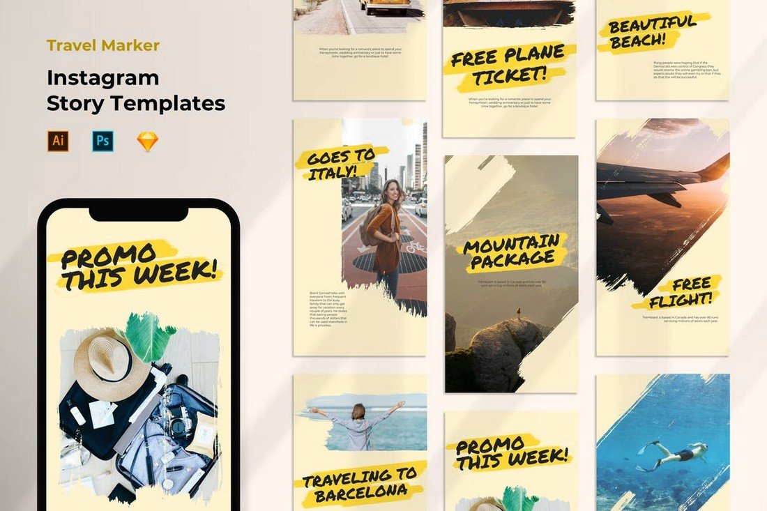 Instagram Promo & Giveaway Templates