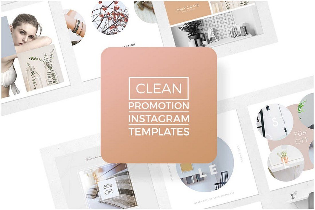 Instagram-Promotion-Clean-Templates 30+ Best Instagram Templates & Banners design tips
