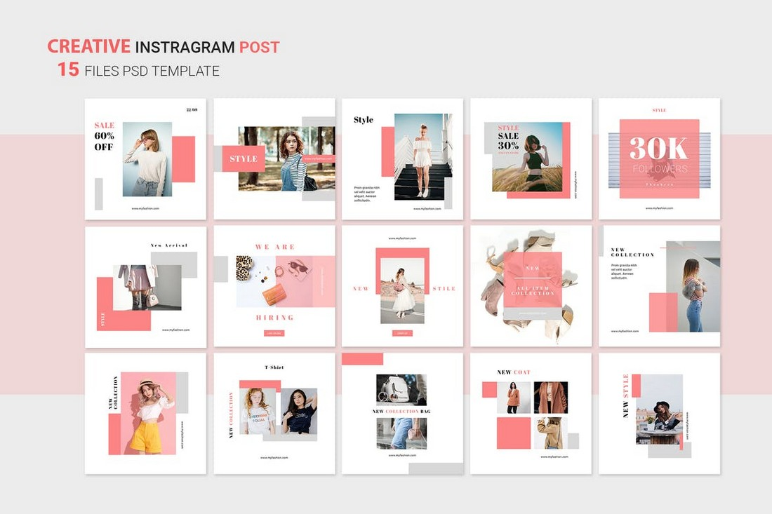 Instagram Shopping Posts Templates