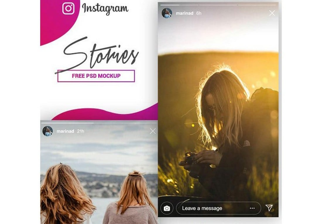 Instagram-Stories-Mockup-PSD-Template 20+ Best Instagram Mockup Templates (Story & Post) design tips