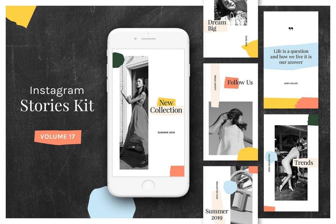 Instagram Stories Templates Kit