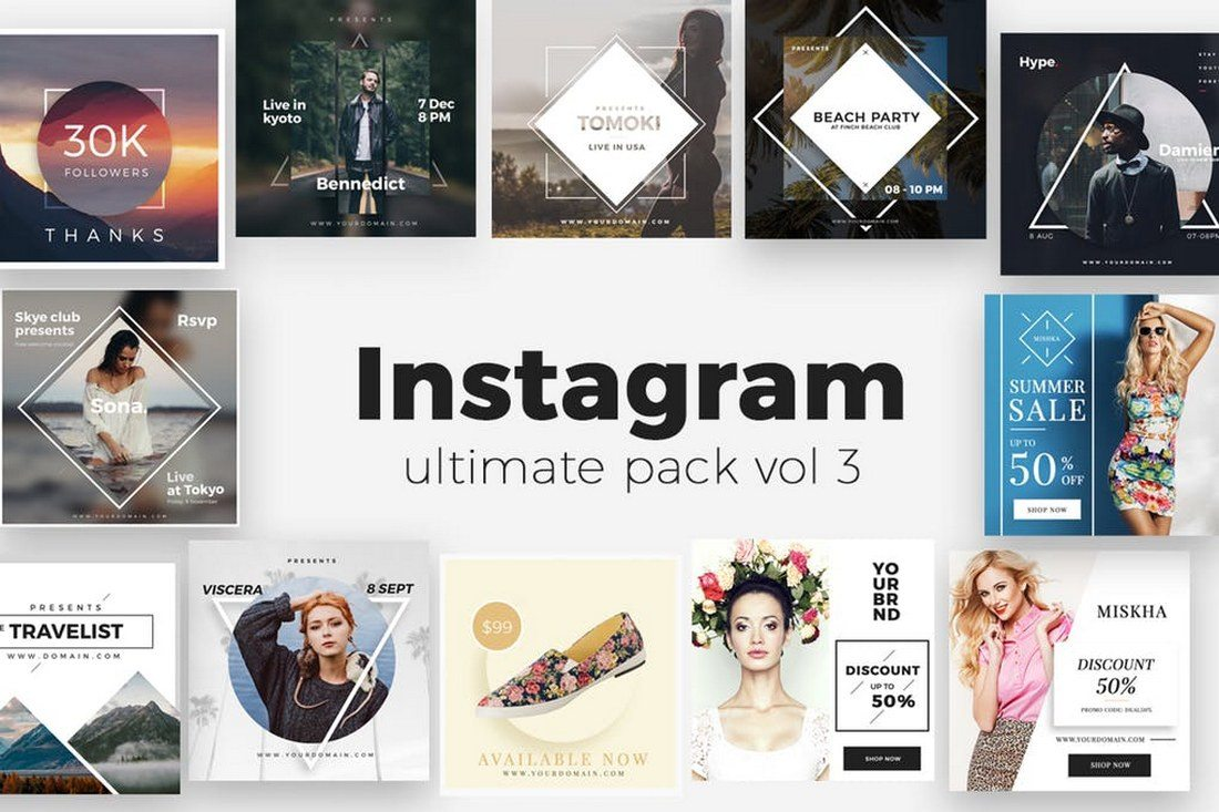 Instagram-Ultimate-Pack-V2 30+ Best Instagram Templates & Banners design tips