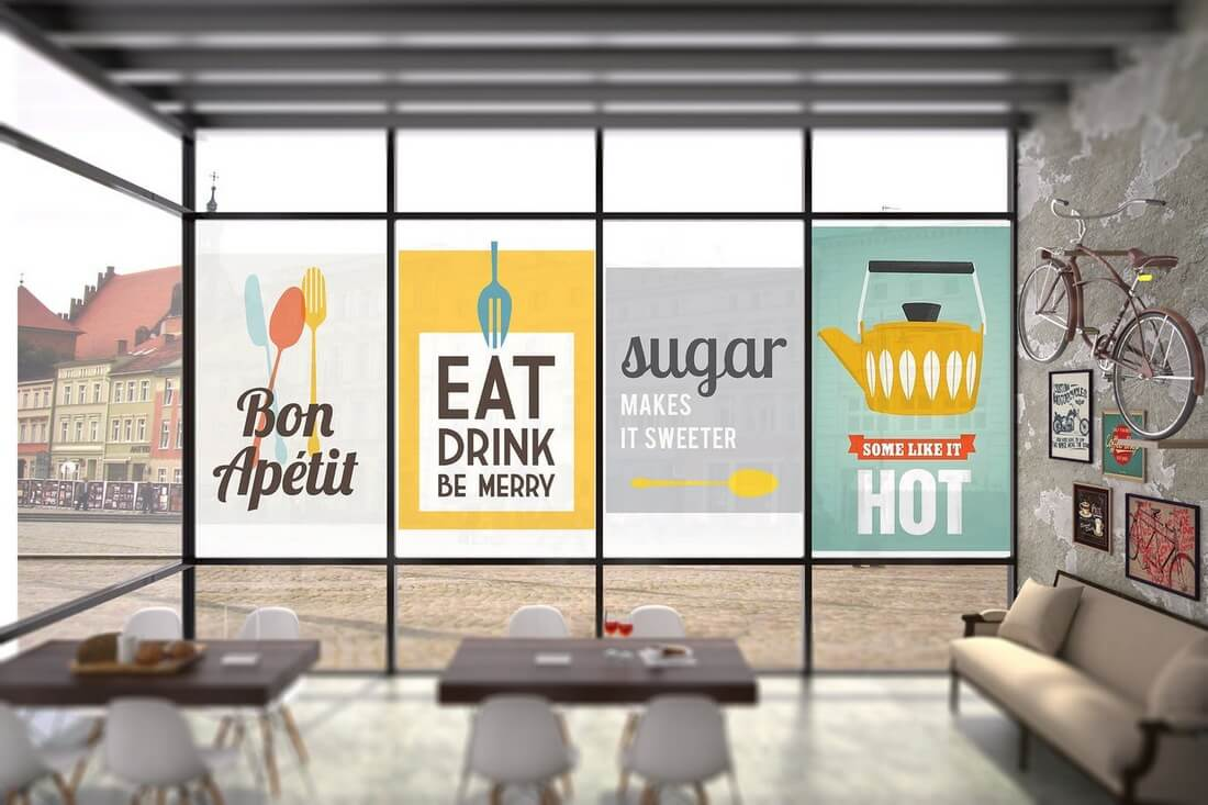 Interior-Coffee-Mockup 30+ Best Poster Mockup Templates 2021 design tips