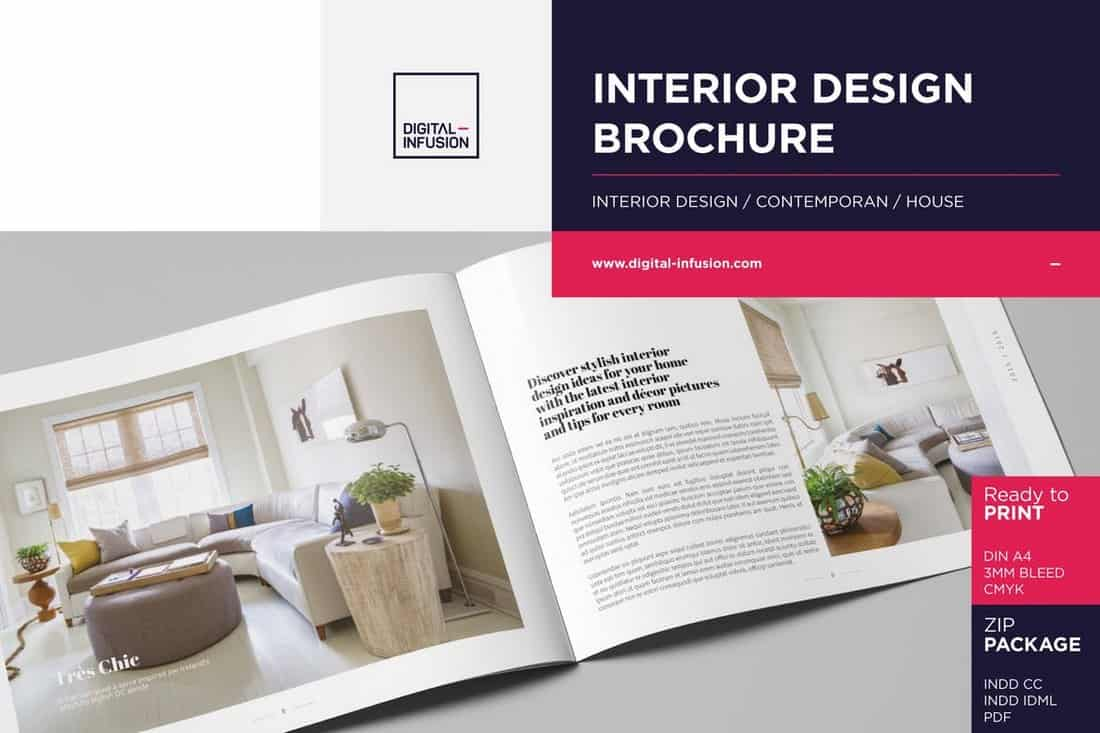 Interior Design Book Template