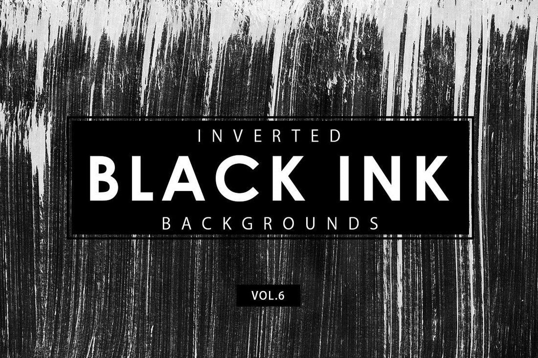 Inverted black ink backgrounds 6