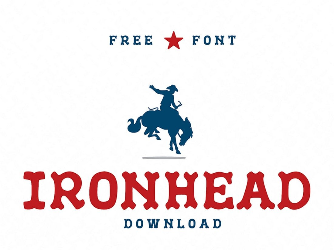 IronHead-Free-Font 60+ Best Free Fonts for Designers 2019 (Serif, Script & Sans Serif) design tips