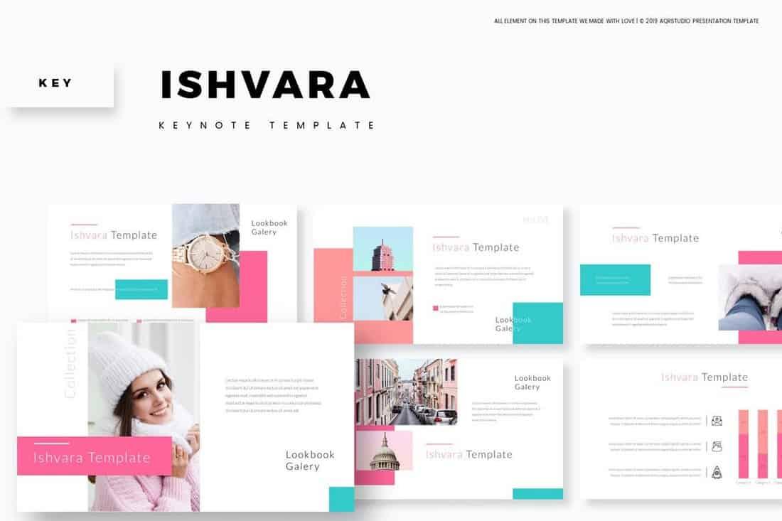 Ishvara - Modèle de keynote animé