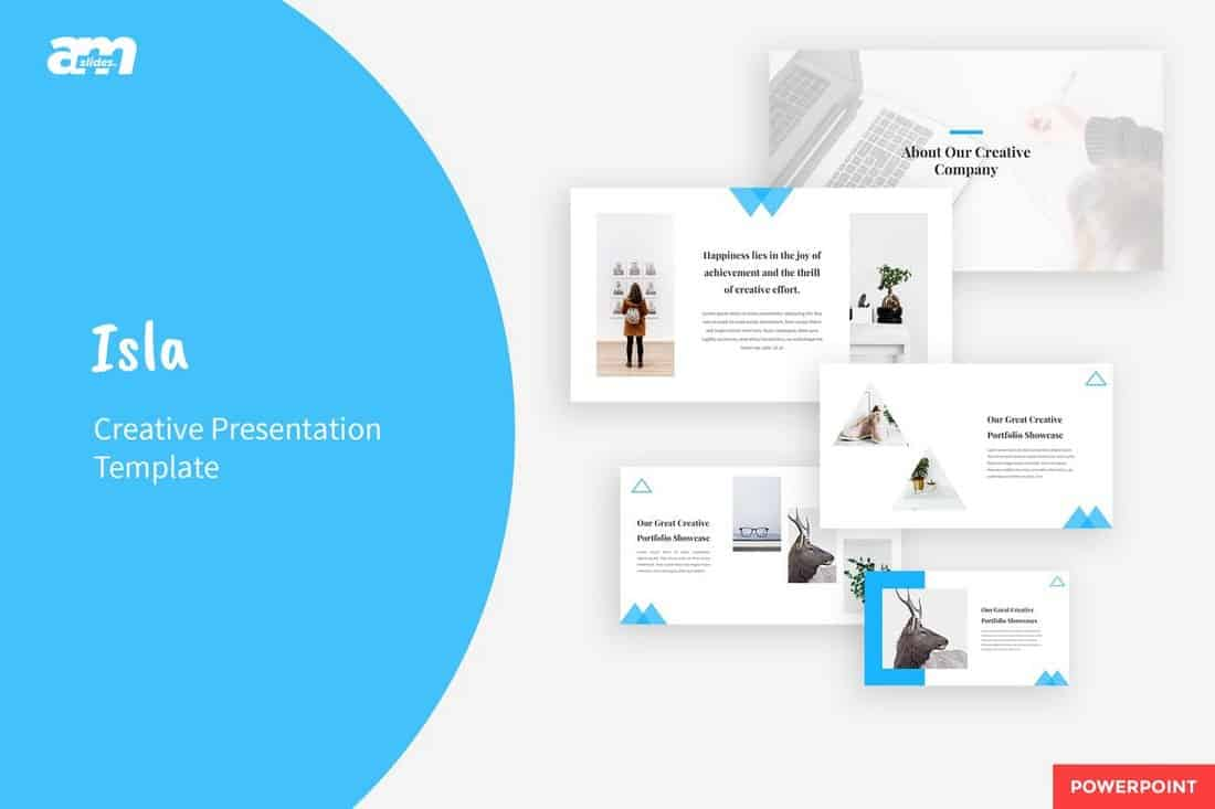 Isla - Creative & Clean Powerpoint Template
