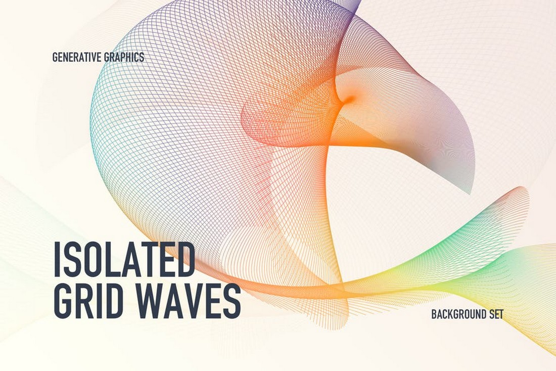Isolated Grid Waves Backgrounds