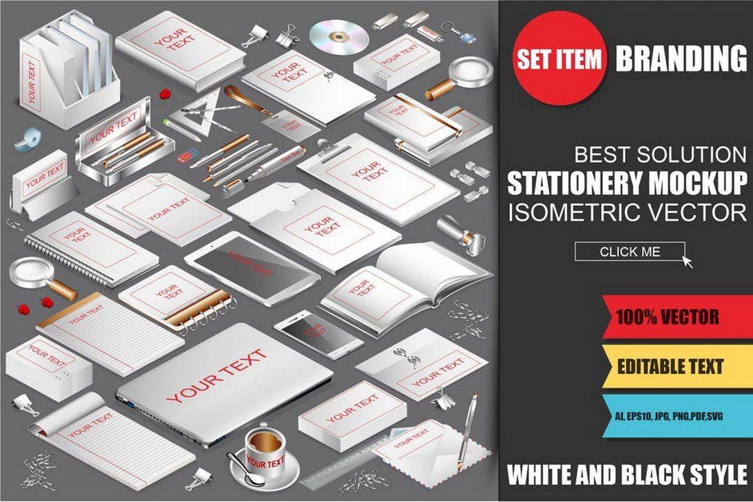 Isometric-Stationery-Mockup-Generator-1 30+ Best Isometric Mockup Templates design tips