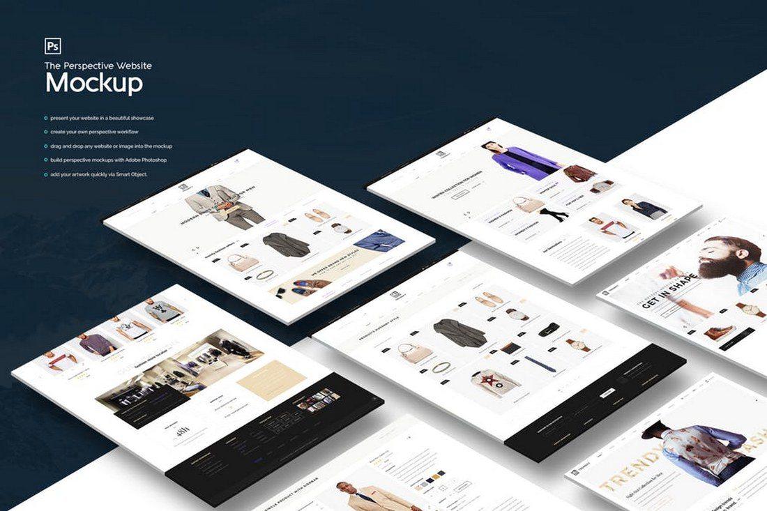Isometric-Website-Mockup 20+ Best Isometric Mockup Templates design tips