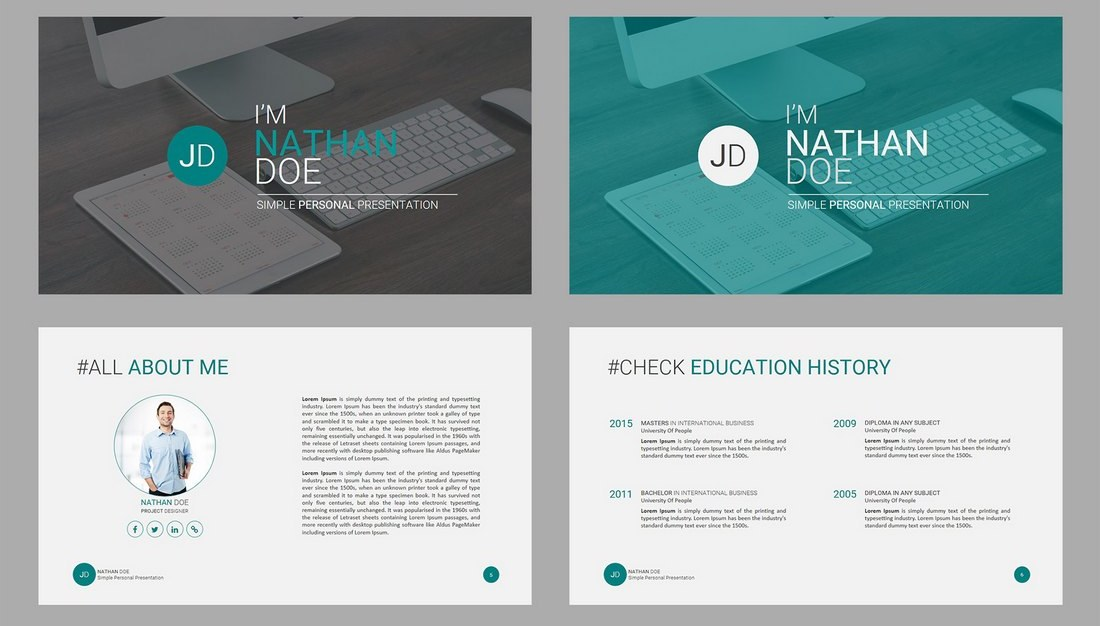 JD-Personal-Powerpoint-Presentation-Template 30+ Animated PowerPoint Templates (Free + Premium) design tips