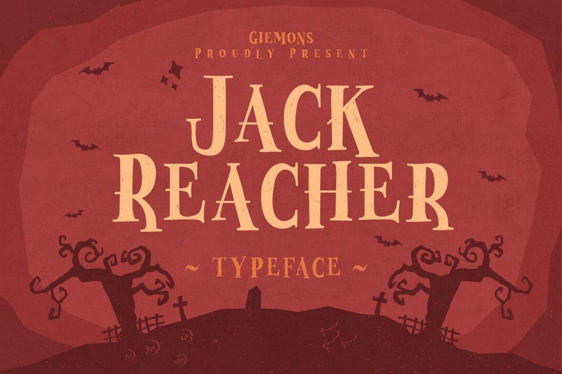 Jack-Reacher-Typeface 60+ Best Big, Poster Fonts of 2019 design tips