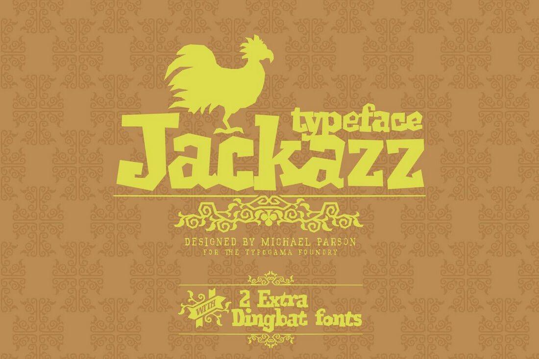 Jackazz 60+ Best Big, Poster Fonts of 2019 design tips
