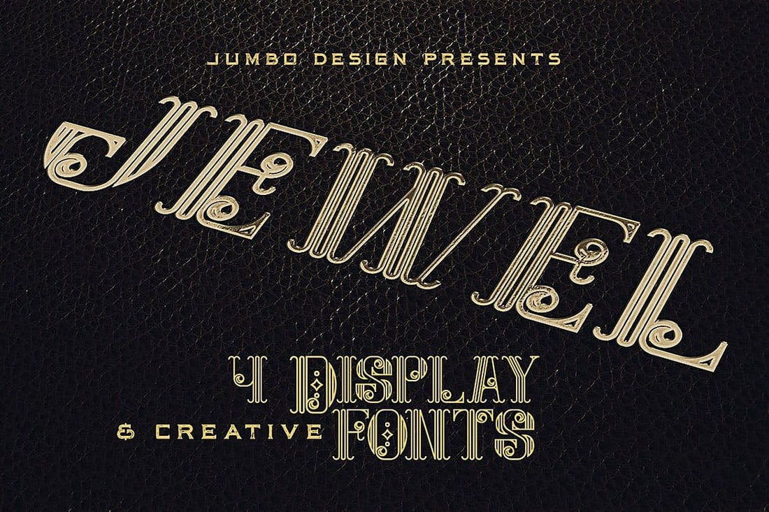 Jewel-Display-Font 100+ Best Modern Serif Fonts design tips
