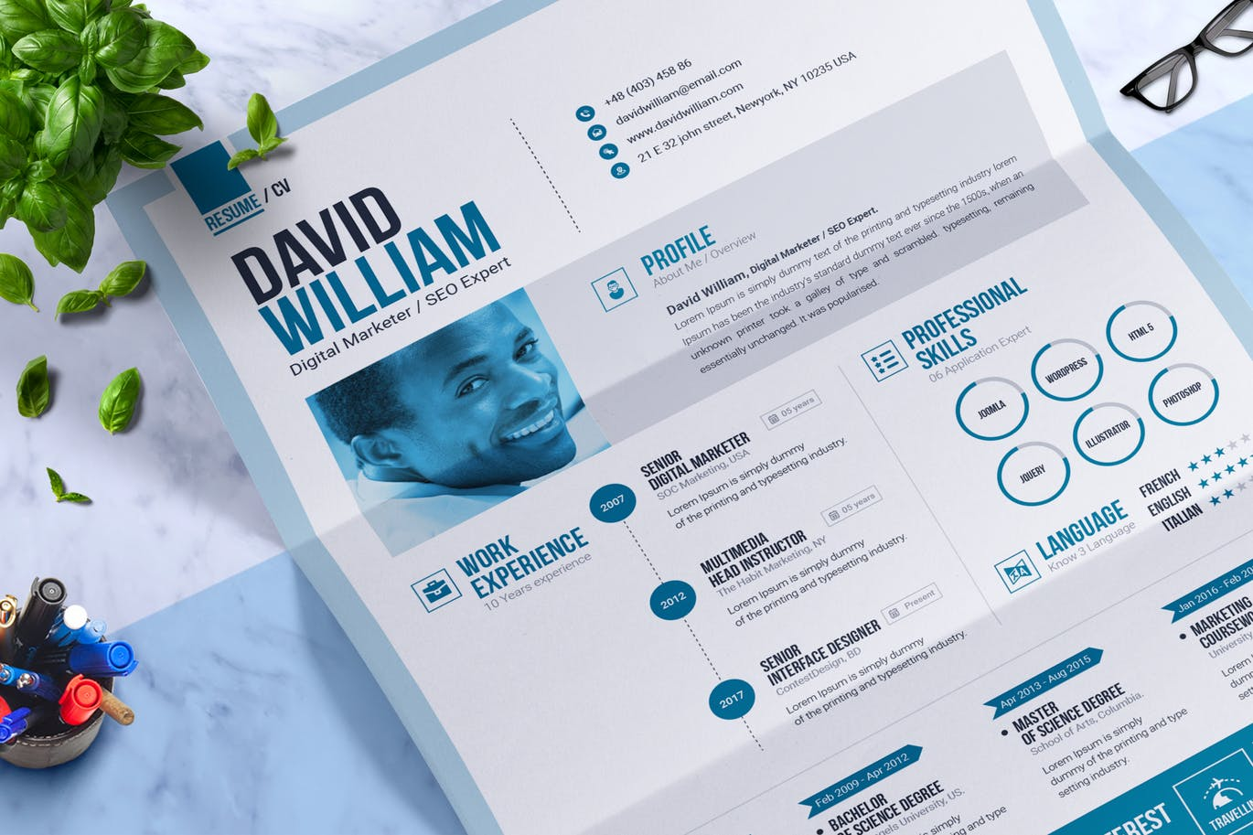 the best cv  u0026 resume templates  50 examples
