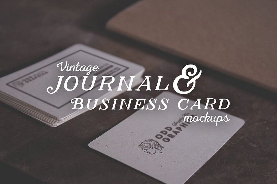 70 corporate creative business card mockups design shack journal business card mockups magicingreecefo Choice Image