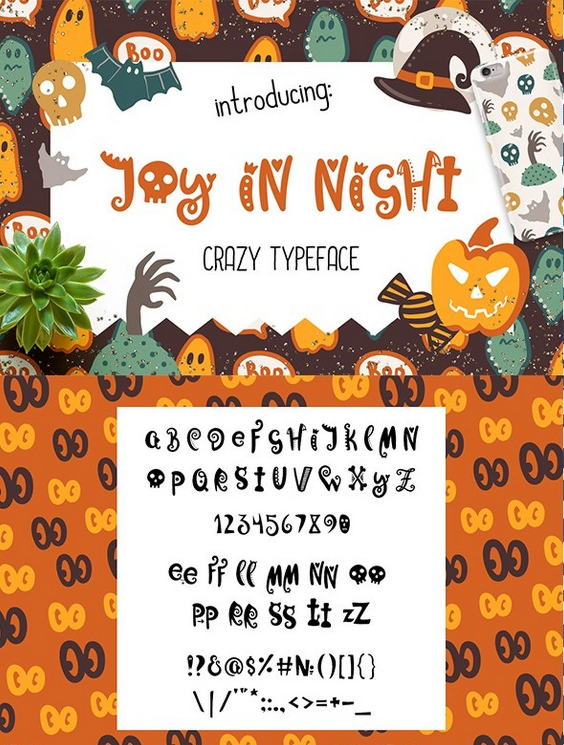Joy-in-Night-Halloween-Typeface 40+ Best Number Fonts for Displaying Numbers design tips