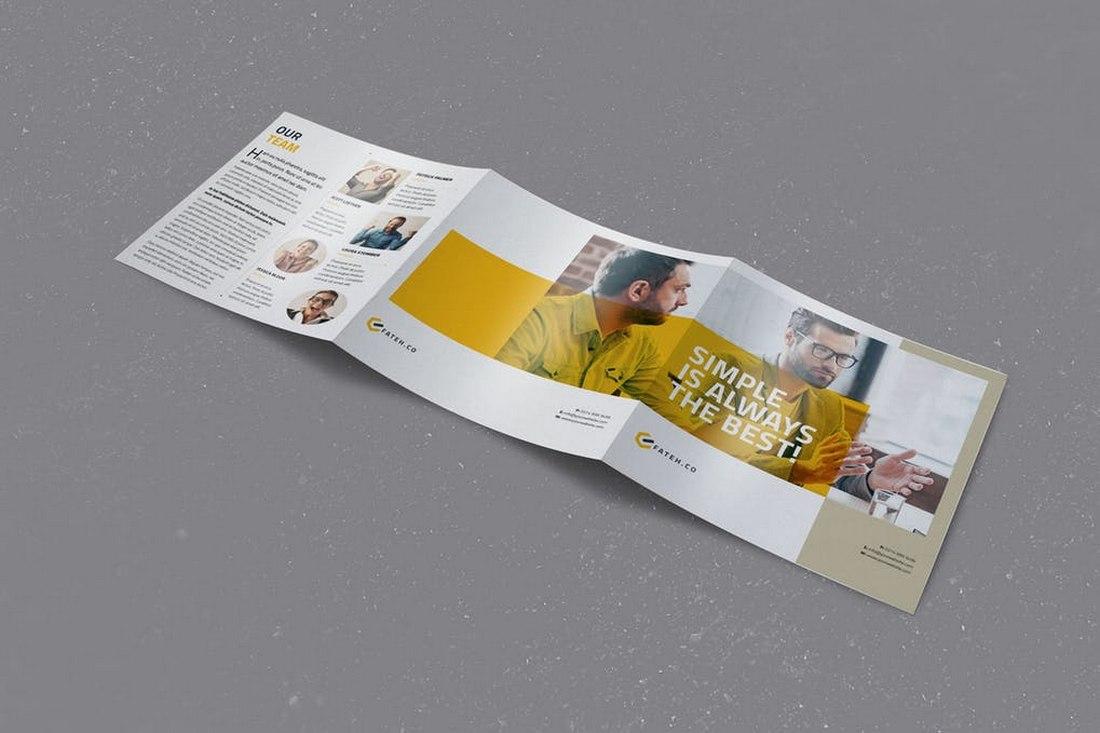 Julian Cooper Square Trifold brochure