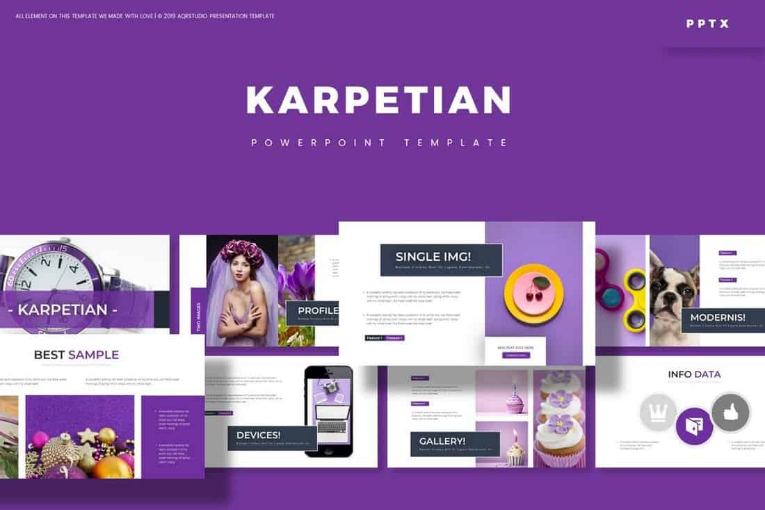Karpetian - Colorful Powerpoint Template