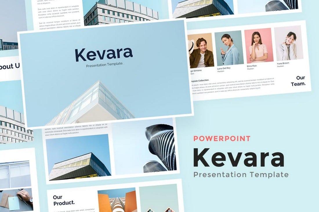 Kevara - Business Powerpoint Template