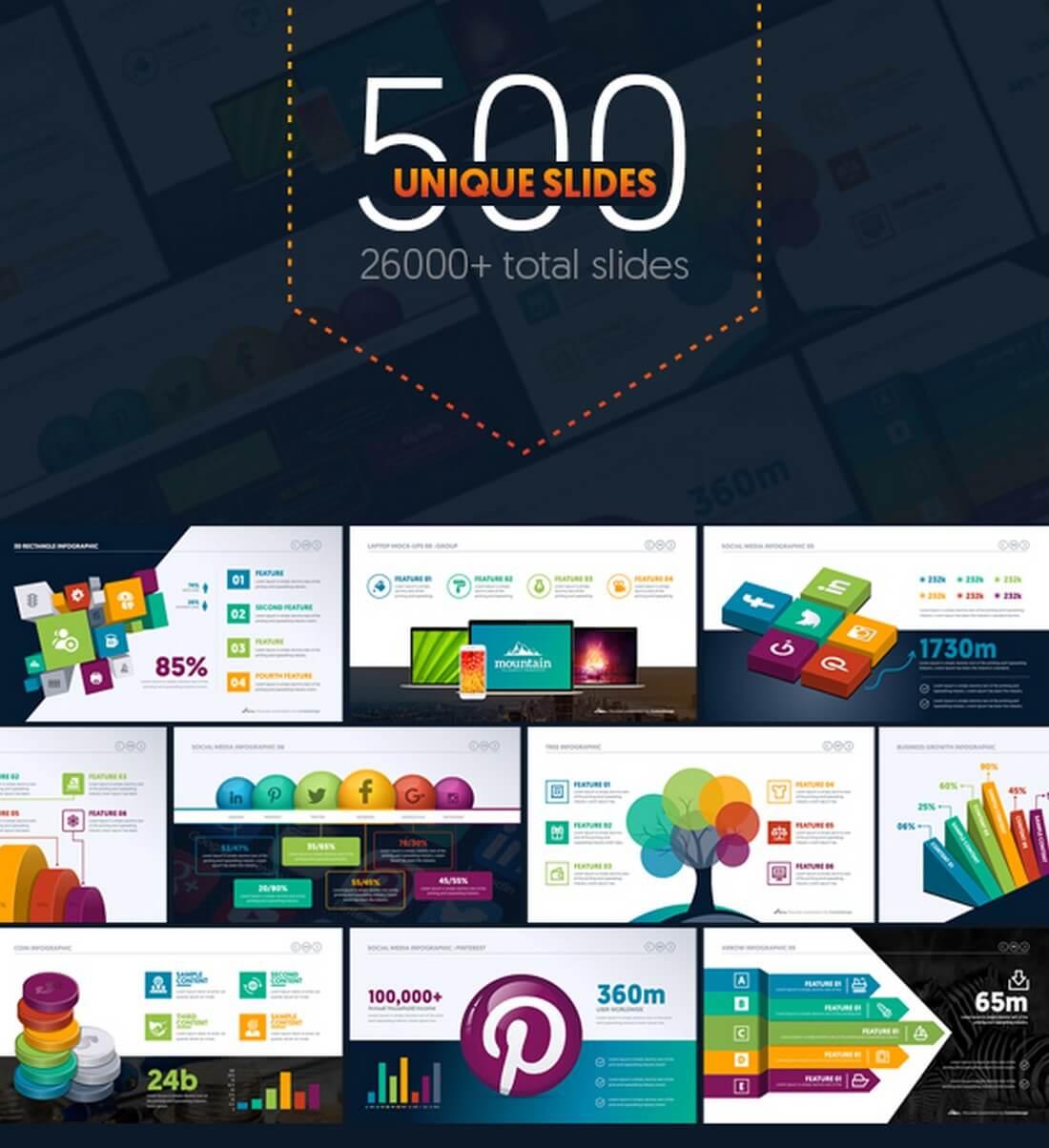 25+ keynote business slide templates | design shack, Presentation templates