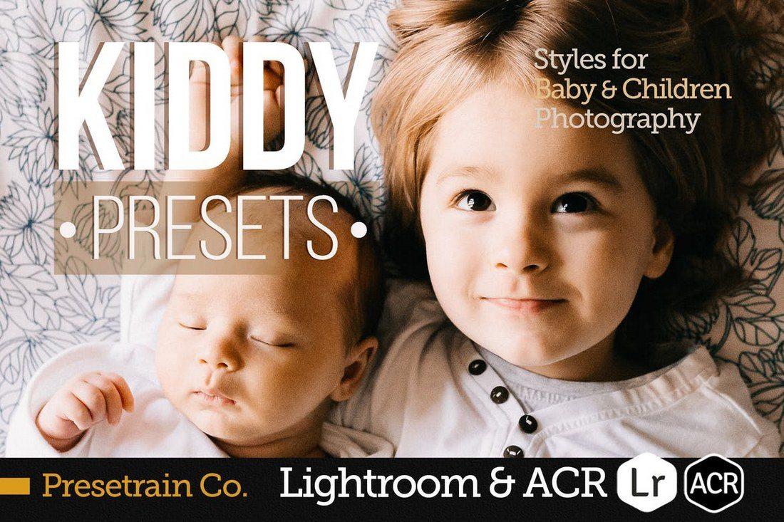Kiddy-Children-Presets-for-Lightroom-ACR 20 Best Newborn Lightroom Presets for Baby Photography design tips