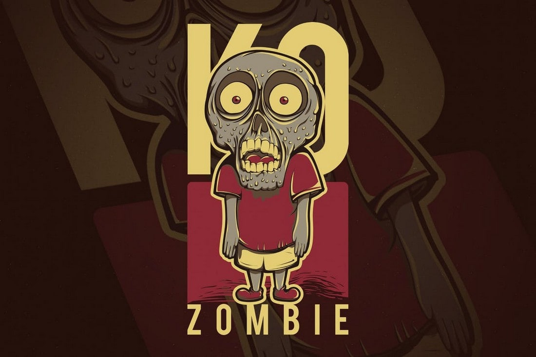 Kids-Zombie-T-Shirt-Design 10+ Creative T-Shirt Design Ideas (How to Design a T-Shirt) design tips