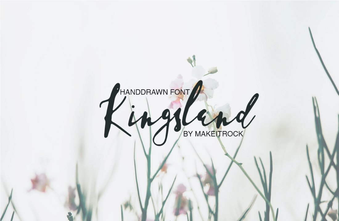 Kingsland - Free Simple Handwritten Font