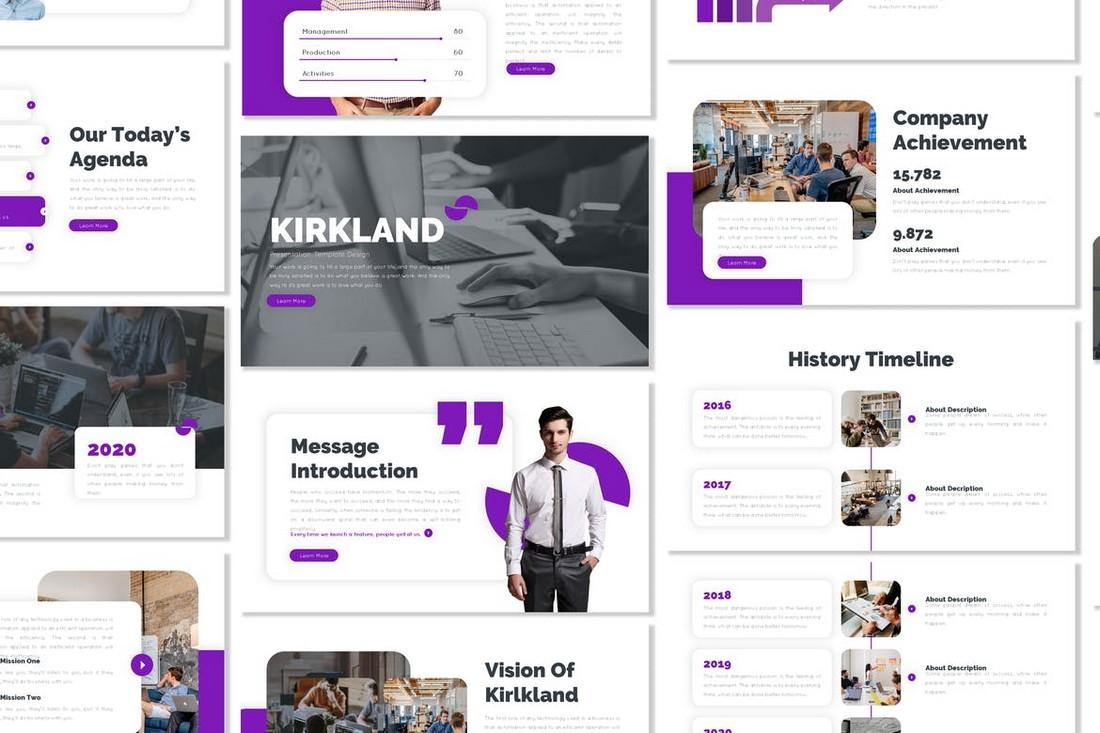 Kirkland - Business PowerPoint Template