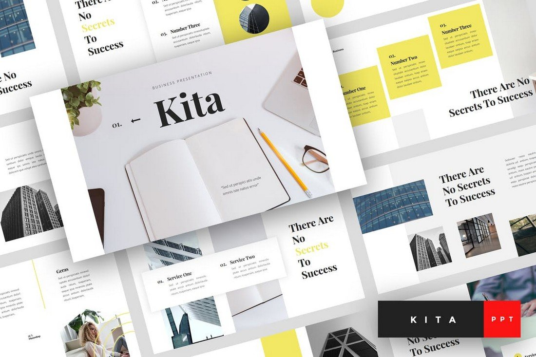 Kita-Business-PowerPoint-Template 30+ Best Business & Corporate PowerPoint Templates 2021 design tips