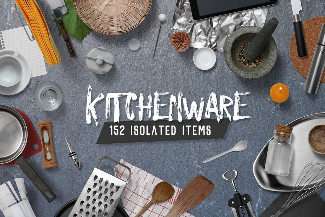 Kitchenware & Tools Scene Generator