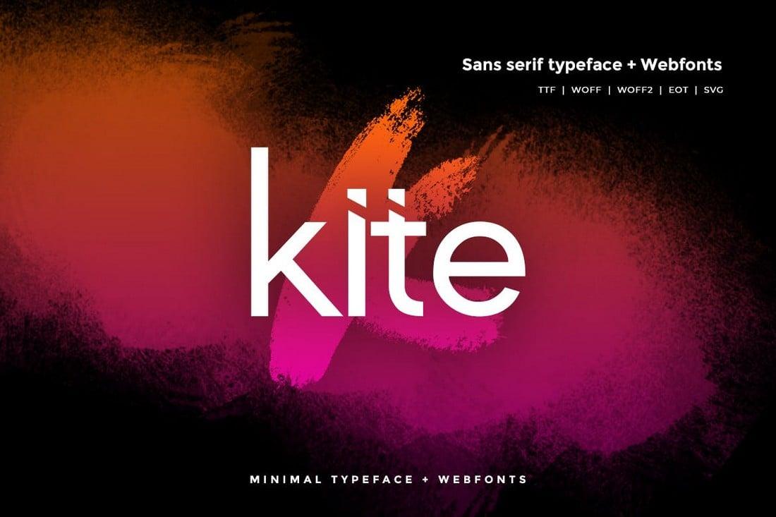 Kite - Stylish Simple Font