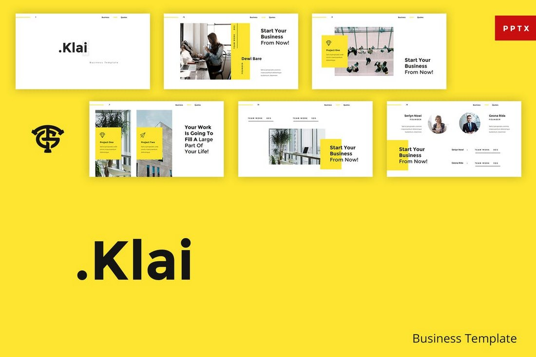 Klai Business - Creative Powerpoint Template