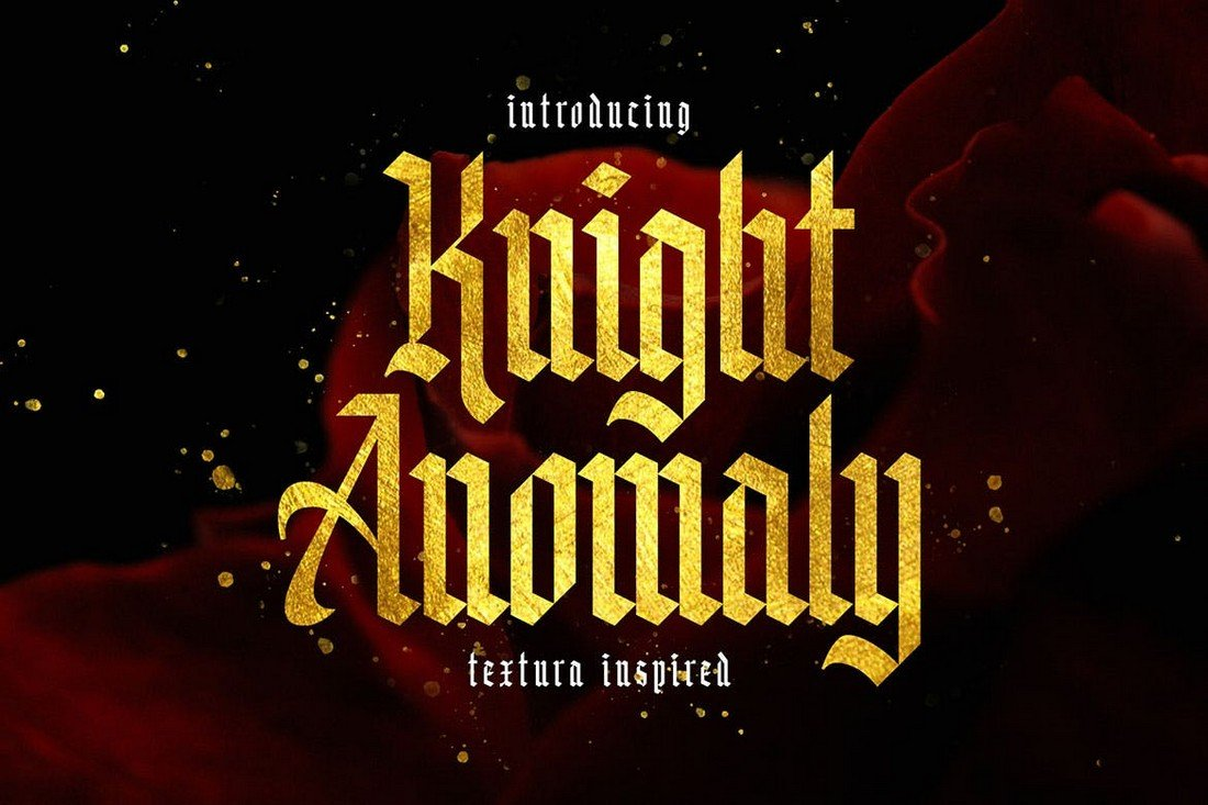 Knight-Anomaly-Utopian-Gothic-Font 40+ Best Gothic Fonts design tips