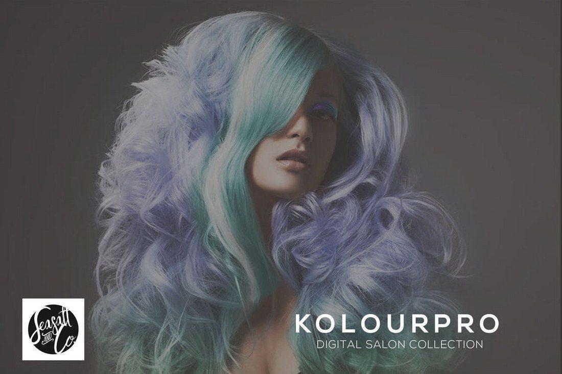 KolourPro-Action-Collection 20+ Best Portrait Photoshop Actions design tips
