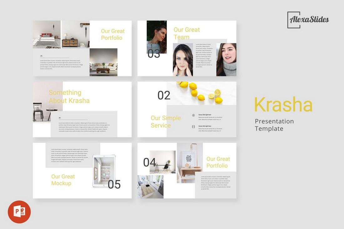 Krasha-Creative-Powerpoint-Template 50+ Best PowerPoint Templates of 2020 design tips